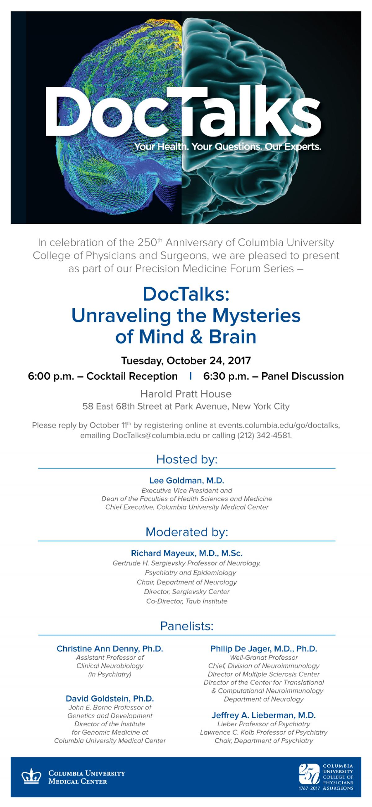 DocTalks Mind_Brain Evite