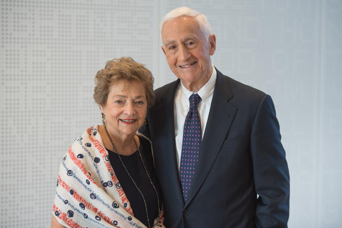 Roy And Diana Vagelos Launch Scholarship Challenge At P Amp S