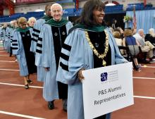 P&S alumni representatives