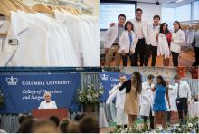 Class of 2021 Don White Coats on a Historic Day