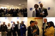 AAMC reception collage