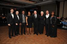 Honorees at P&S Alumni Gala