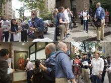 Sept 14 CUMC Walking Tour collage