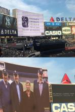 P&S leadership at Yankee Stadium