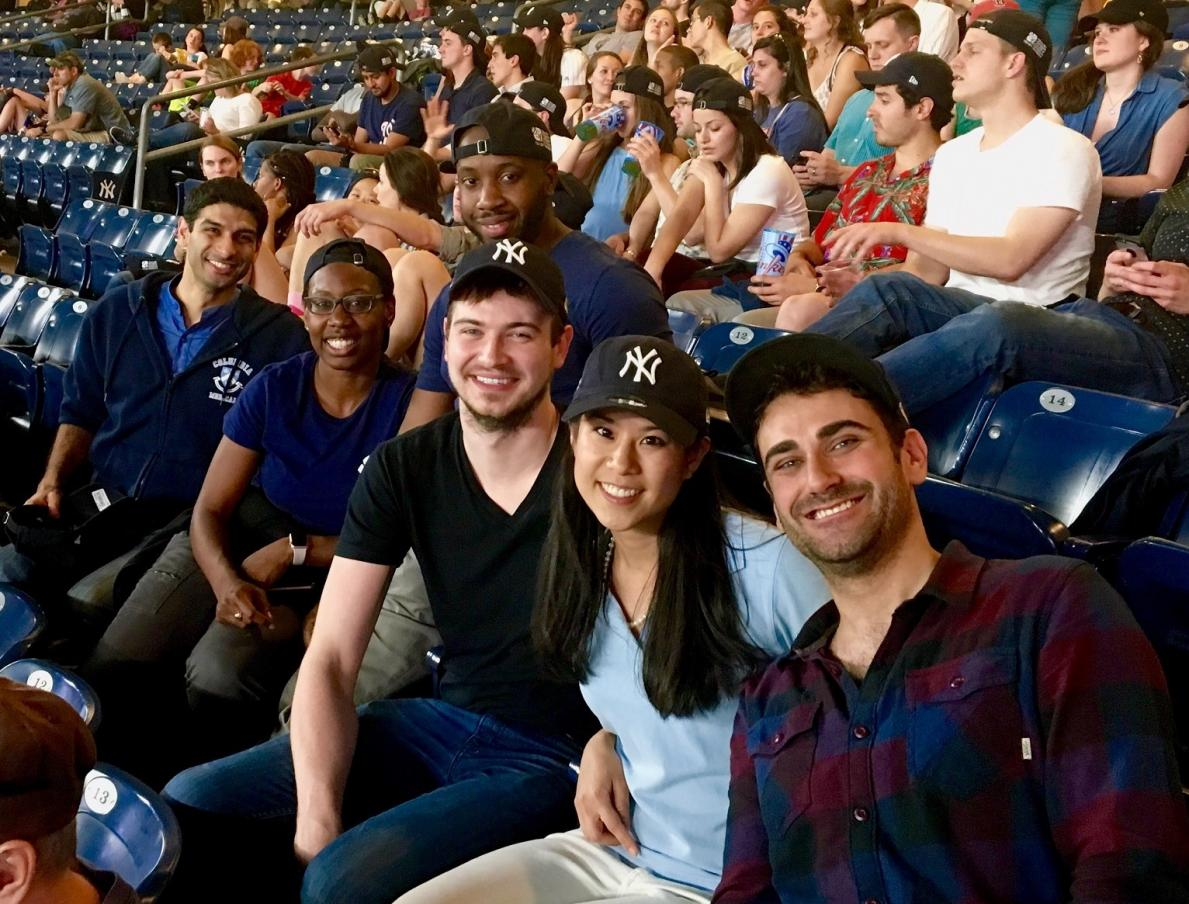 P&S Students at Yankee Game