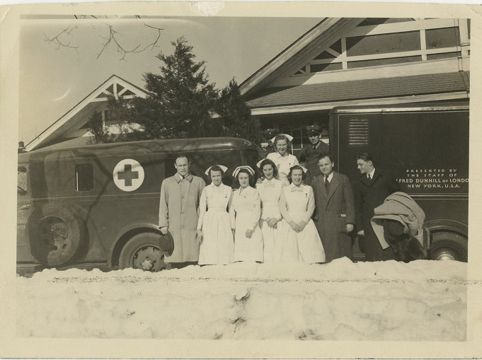 Charles Drew and mobile blood unit